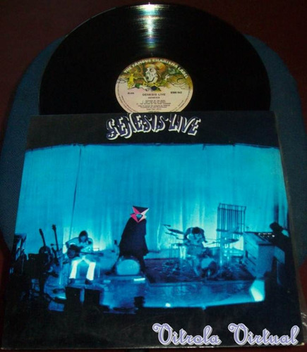lp genesis live 1973 charisma label nacional