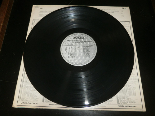 lp george gershwin melodies - the shining strings, ano 1979