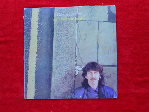 lp george harrison p 1981 somewhere in england