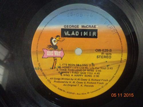 lp george mccrae (1975) (sem capa original)
