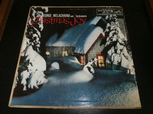 lp george melachrino, christmas joy - alegria de natal
