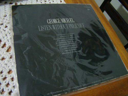 lp george michael , listen without prejudice