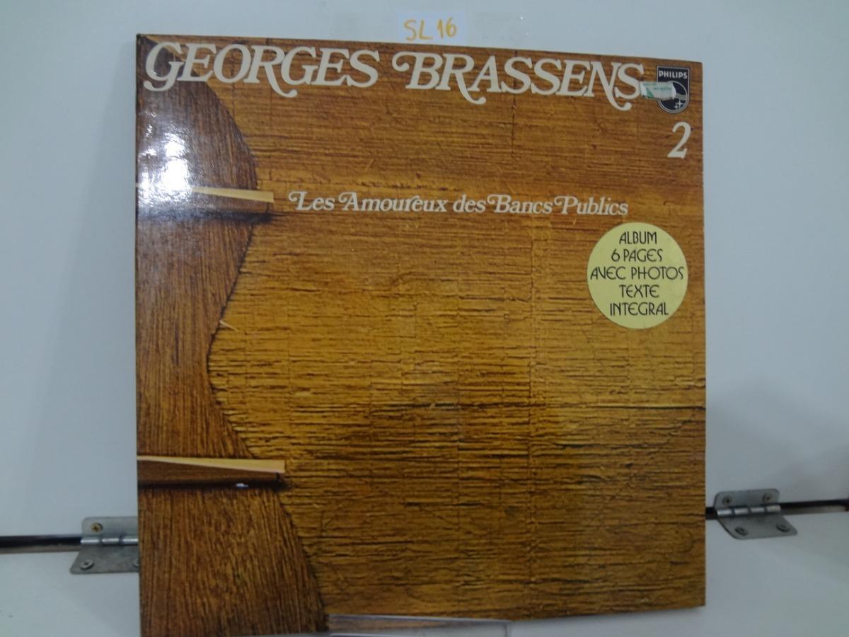 Lp Georges Brassens Les Amoureux Des Bancs Publics Import R