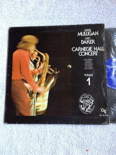 lp gerry mulligan chet baker