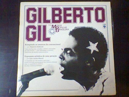 lp gilberto gil - hist.da música popular brasileira.