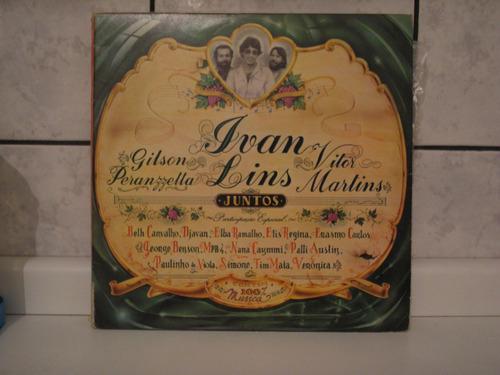 lp gilson peranzetta, ivan lins & victor martins juntos