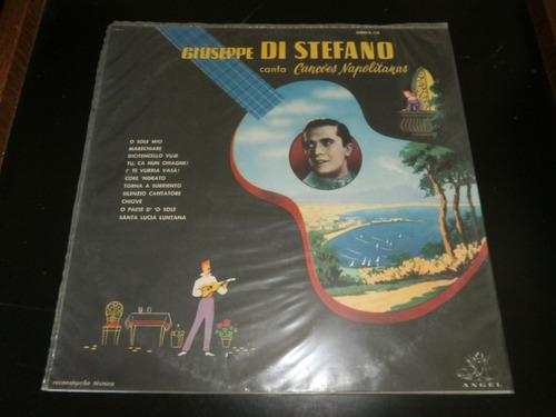 lp giuseppe di stefano - canções napolitanas, vinil seminovo