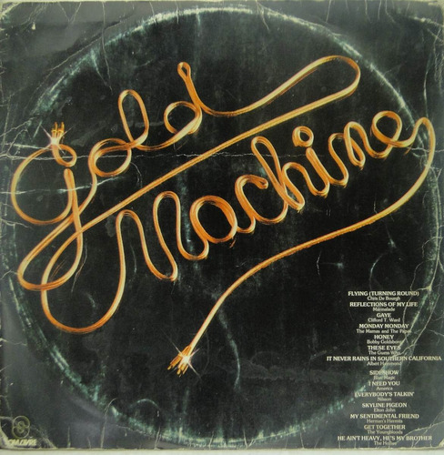 lp gold machine  1982 - ge008