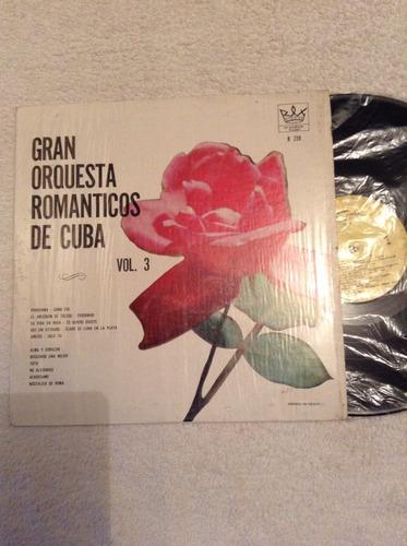 lp gran orquesta romanticos de cuba