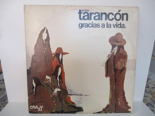 lp grupo tarancón gracias a la vida selo crazy 1976 encarte