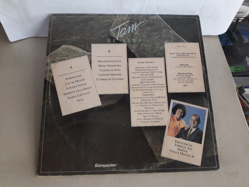lp grupo tom de vida - luz do mundo part.coral iasp 1993
