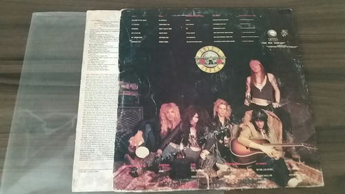 lp guns n' roses - appetite for destruction