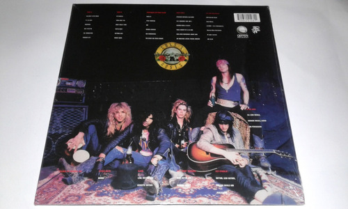 lp guns n´roses appetite for destruction vinil importado usa