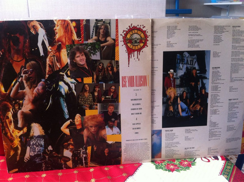 lp guns'n'roses use your illusion 2 - original 1991 - duplo
