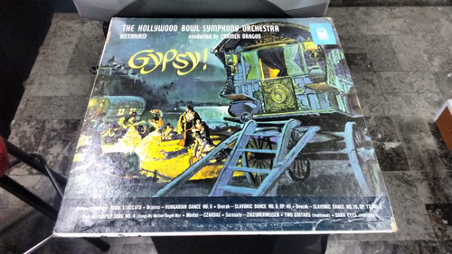 lp gypsy the hollywood bowl orchestra en acetato,long play