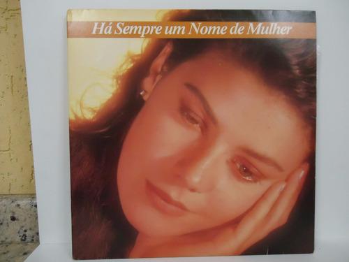 lp há sempre um nome de mulher - duplo - bmg - 1987