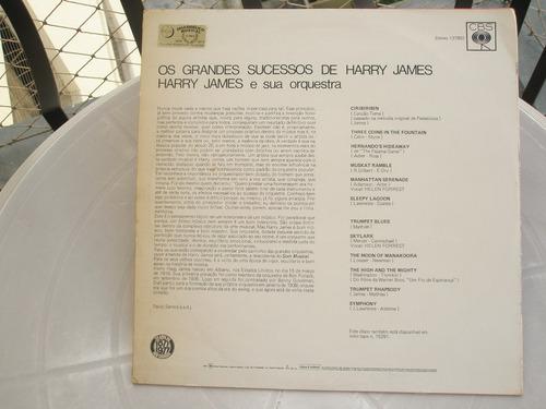 lp  harry james  -  os grandes sucessos  -  1975  -  lindo