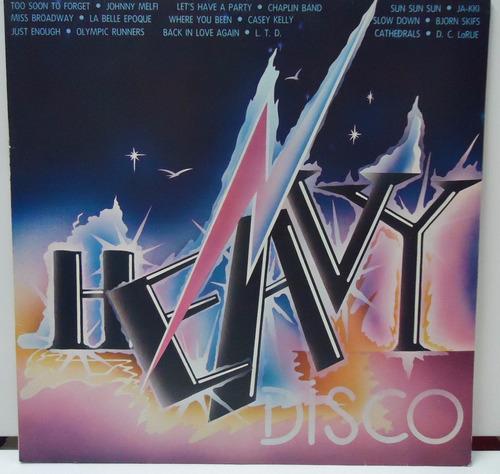 lp heavy disco - selo emi - by trekus vintage