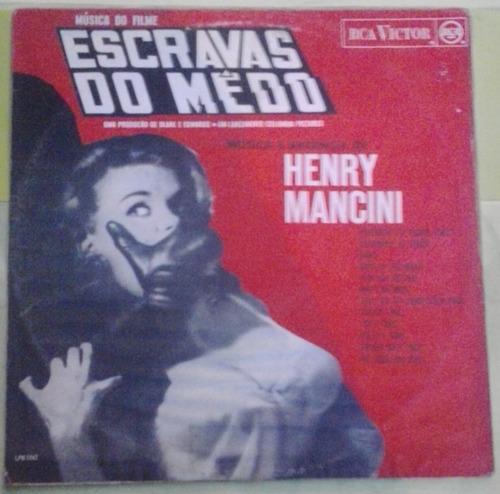 lp henry mancini escravas do medo 1965