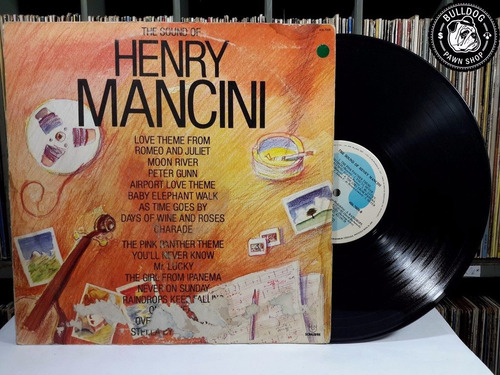 lp henry mancini the sound henry mancini - veja o video- dj