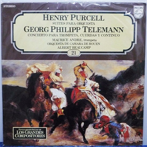 lp henry purcell, georg philipp telemann suites para orqu