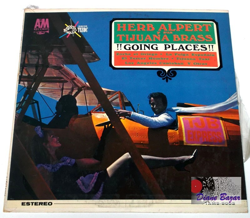 Lp Herb Alpert Y Sus Tijuana Brass 161 161 Going Places