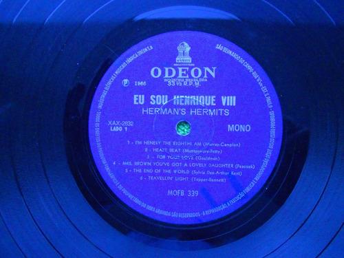 lp herman's hermits p 1966 eu sou henrrique viii