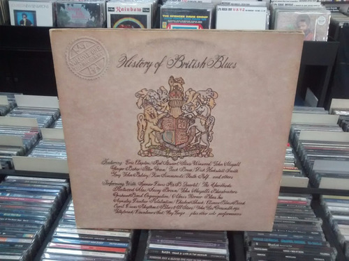 lp - history of british blues - imp - duplo -