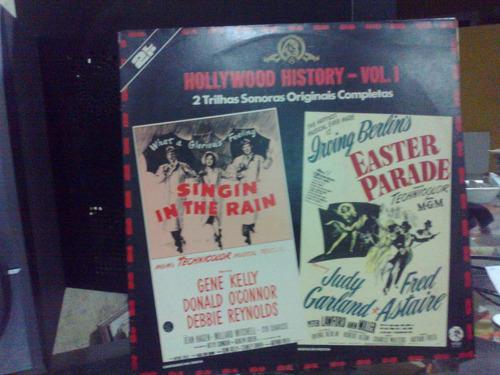 lp hollywood history volume1 singin in te rain faster parade