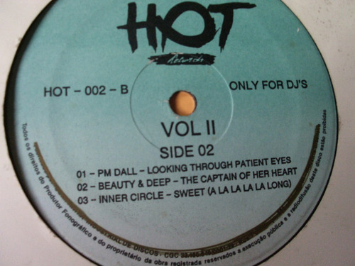 lp hot only for dj's