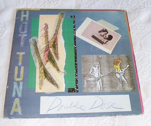 lp hot tuna double dose selo grunt 1978 made in france 2 lps