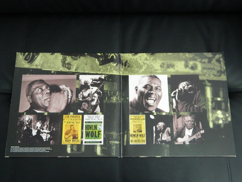 lp howlin wolf blues from hell 180g disco doble press usa