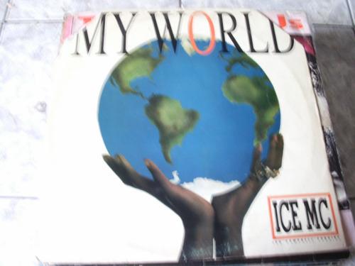 lp ice mc my world encarte