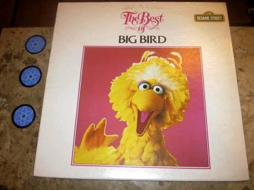 lp imp sesame street ( vila sesamo ) - best big bird (1983)