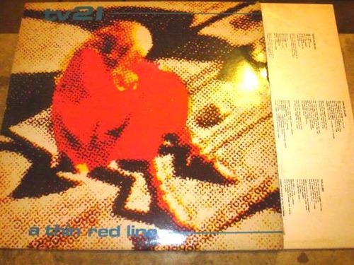 lp imp tv21 - a thin red line (1981) c/ encarte