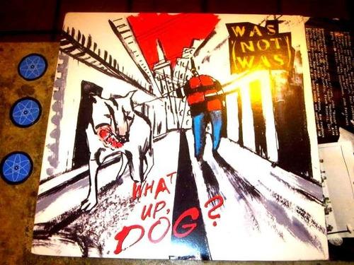 lp imp was (not was) - what up dog (1988) c/ encarte