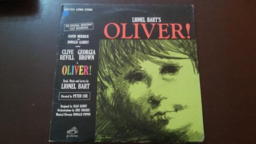 lp importado lionel bart's - oliver!. capa dupla.