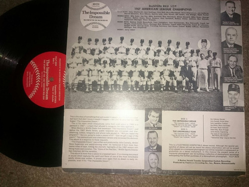 lp impossible dream red sox history