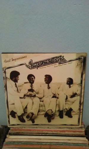 lp impressions first impressions 1976 raro