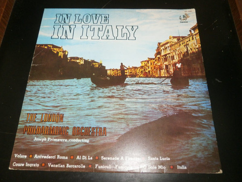 lp in love in italy - the london philharmonic orchestra 1979