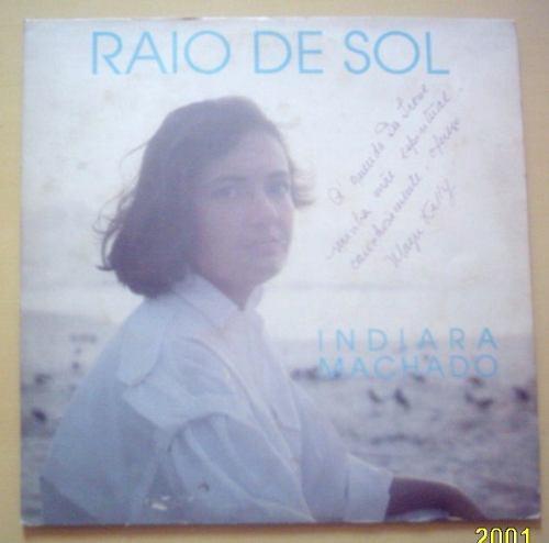 lp indiara machado raio de sol mazu kelly 1993 autografado