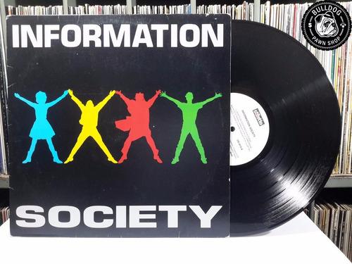lp information society c/ encarte - veja o video - bj