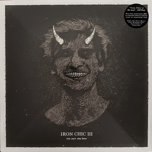 lp iron chic iii - you can´t stay here - ltd edition gold