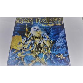 Lp Iron Maiden Live After Death Vinil Duplo Imp Lacrado Eu