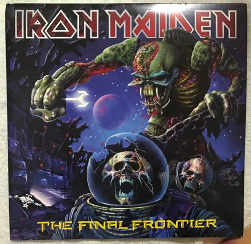 lp iron maiden - the final frontier - vinil picture duplo