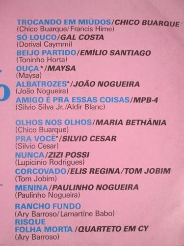 lp itapema fm som bonito brasil chico gal joao maysa elis