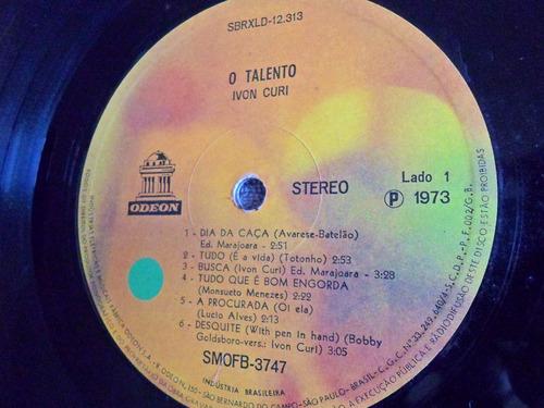 lp ivon curi / o talento / ano 1973