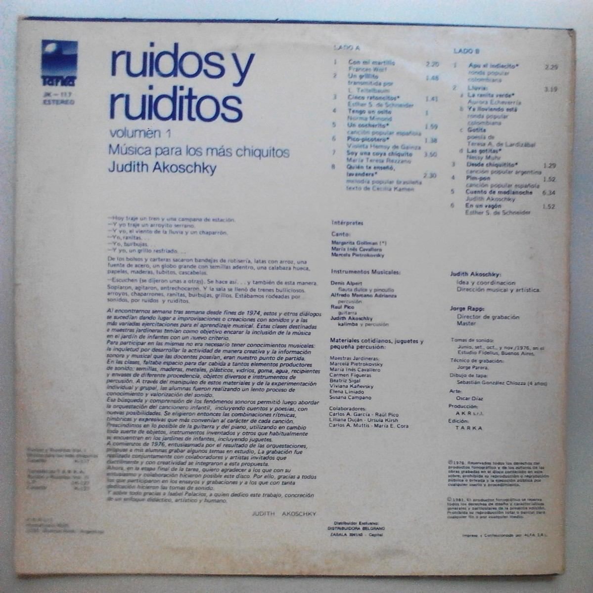 ruidos y ruiditos vol 1