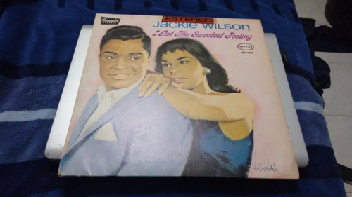 lp jackie wilson i get the sweetes formato acetato,long play