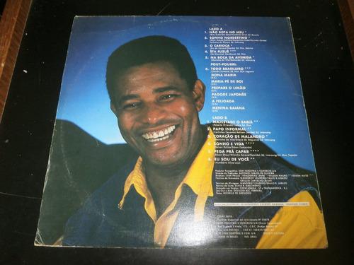 lp jair rodrigues, majestade o sabiá, disco vinil, ano 1985